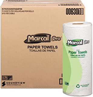 product image for Marcal(R) Sunrise Roll Towels, 80 Sheets/Roll, Case Of 30 Rolls