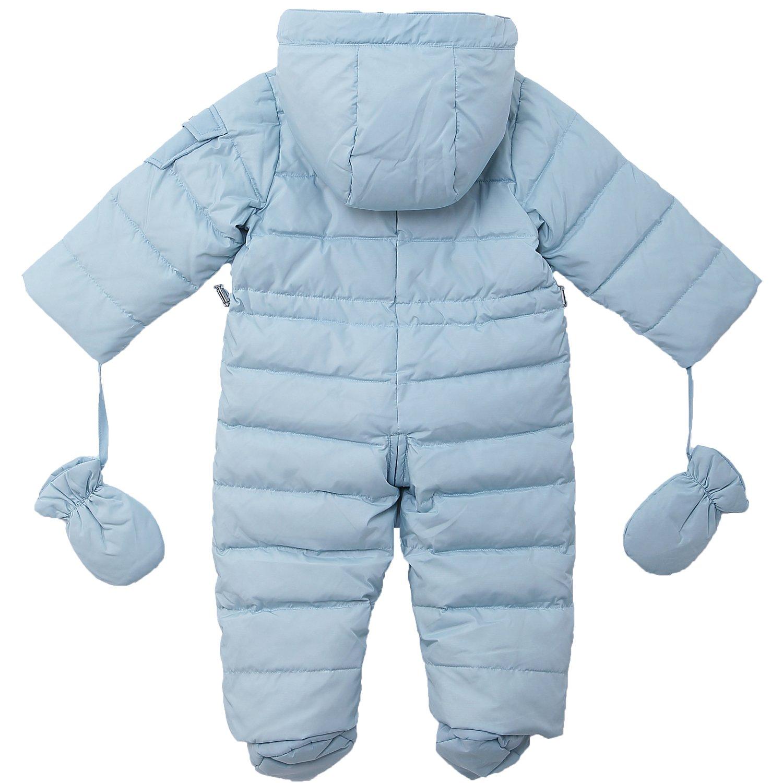 25004d5e9 Amazon.com  OCEANKIDS Baby Boys  Pram One-Piece Snowsuit Attached ...
