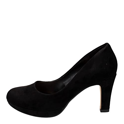 ab0255e838d Clarks Crisp Kendra 26104444 Black: Amazon.co.uk: Shoes & Bags