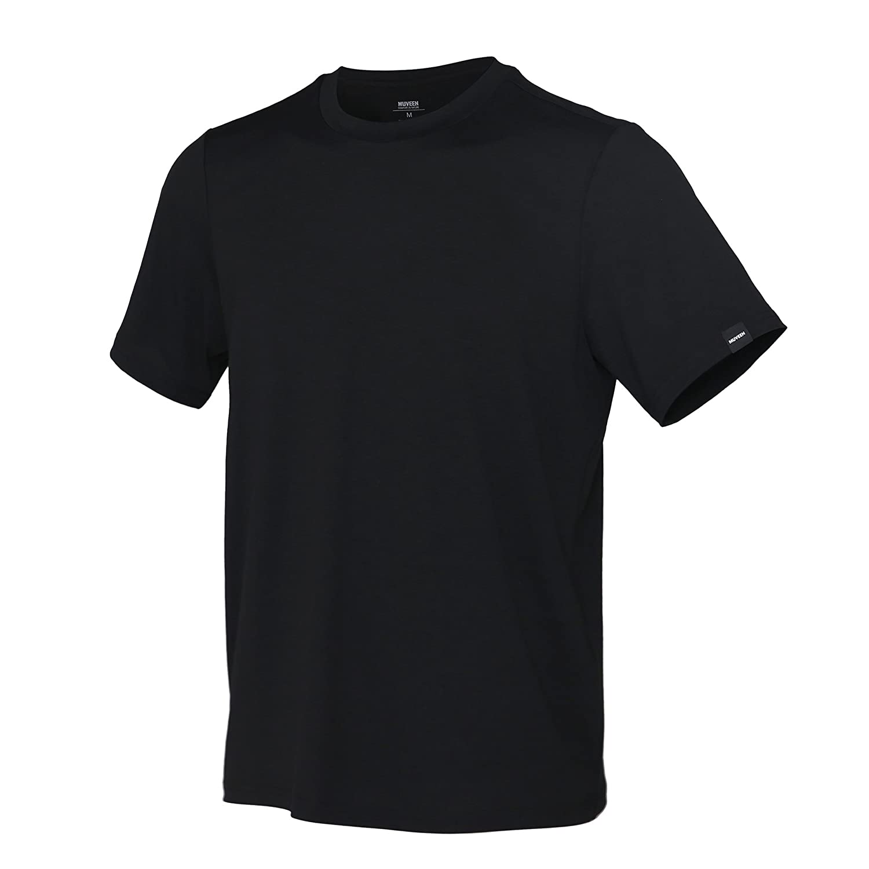 Stylish Soft /& Lightweight Active /& Cool Comfort MUVEEN Mens Performance Nature TENCEL Polo Shirt