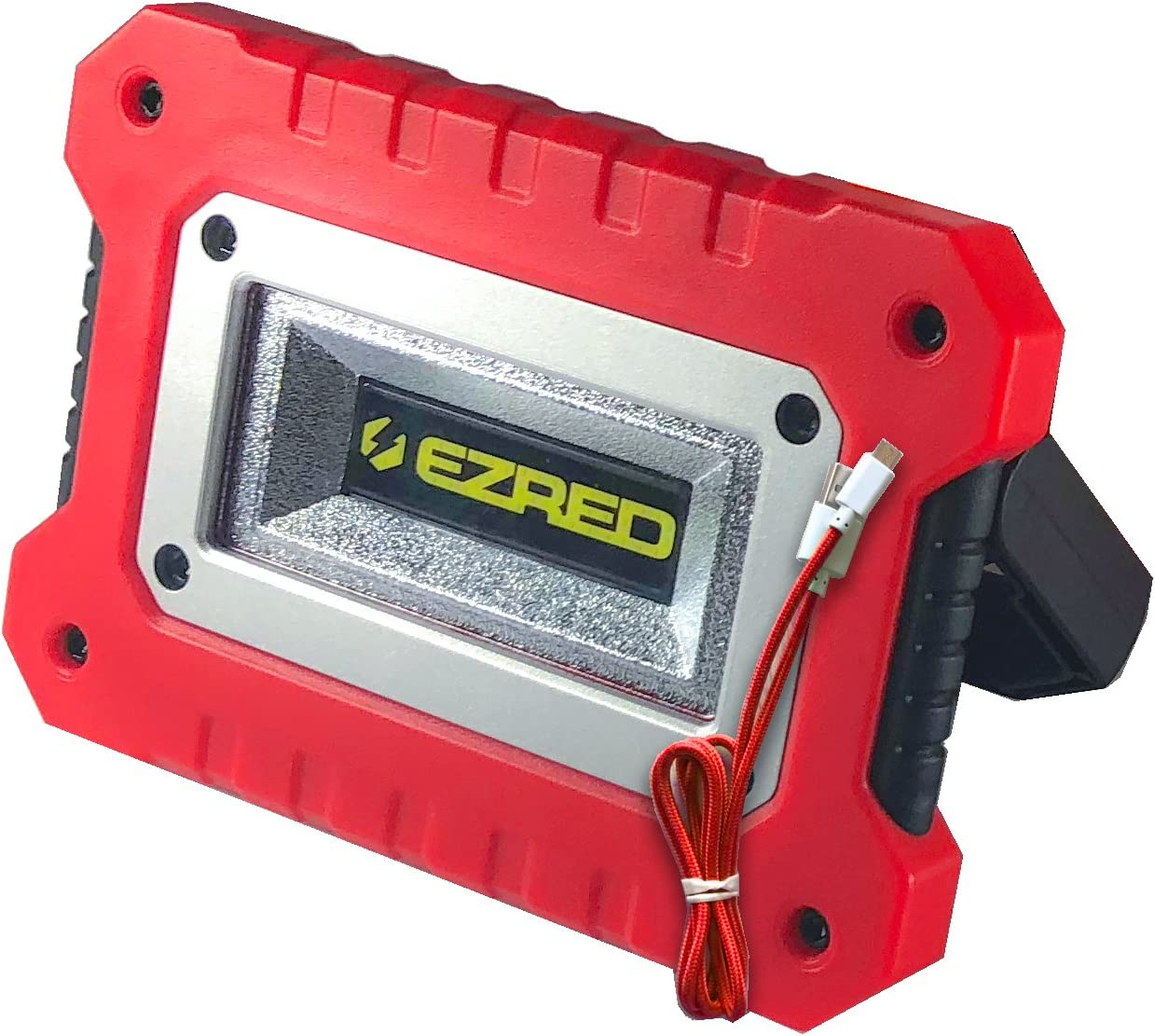 EZ Red XLM500-GR 500 Lumen Rechargeable Magnetic Work Light GREEN