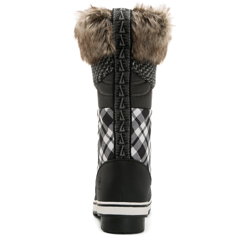 Global Win GLOBALWIN 10(M) Women's 1730 Winter Snow Boots B075DCCW2M 10(M) GLOBALWIN US Women's 1733black/White b3acd9