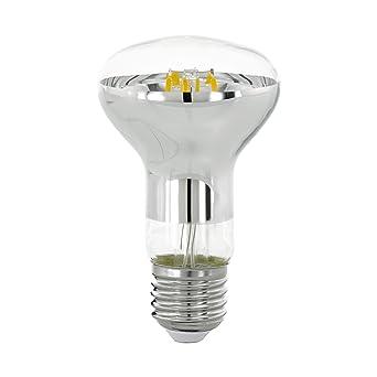 EGLO LM - Bombilla LED (E27, cristal, 6 W), transparente