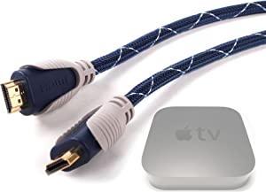 DURAGADGET Extra Long 1.8M HDMI Transfer Cable - Compatible with Apple TV (2nd/3rd/4th Gen & 4K)