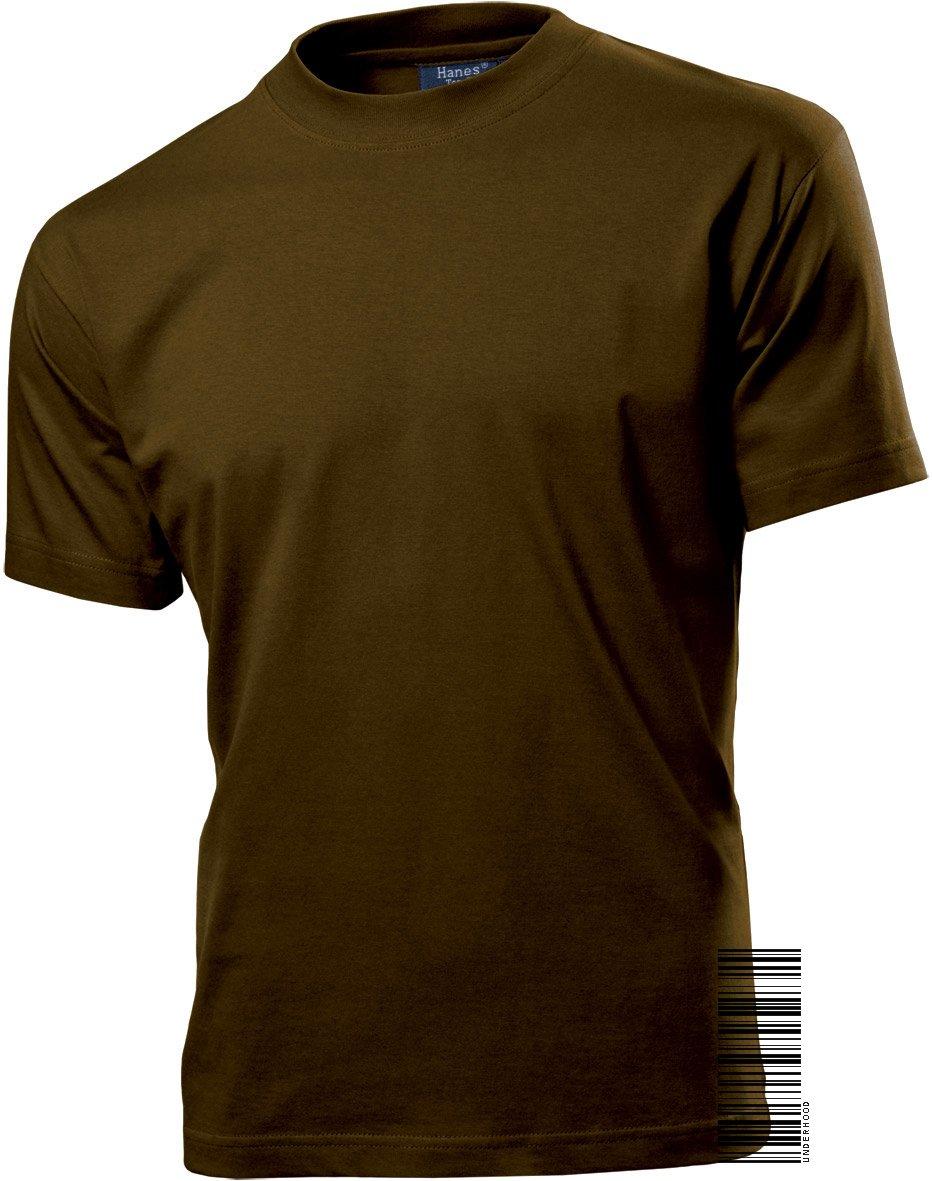 Men's Short Sleeve 100% Cotton Crew Neck T-shirt - Underhood of London