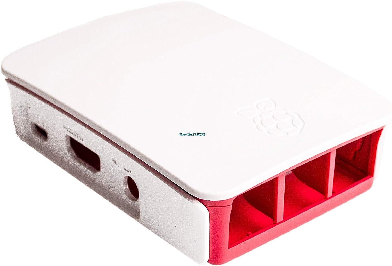 Funda Hot Raspberry Pi 3 3B 3B + Caja oficial de ABS Carcasa de la caja Raspberry pi 2 de la Fundación Raspberry Pi: Amazon.es: Bricolaje y herramientas