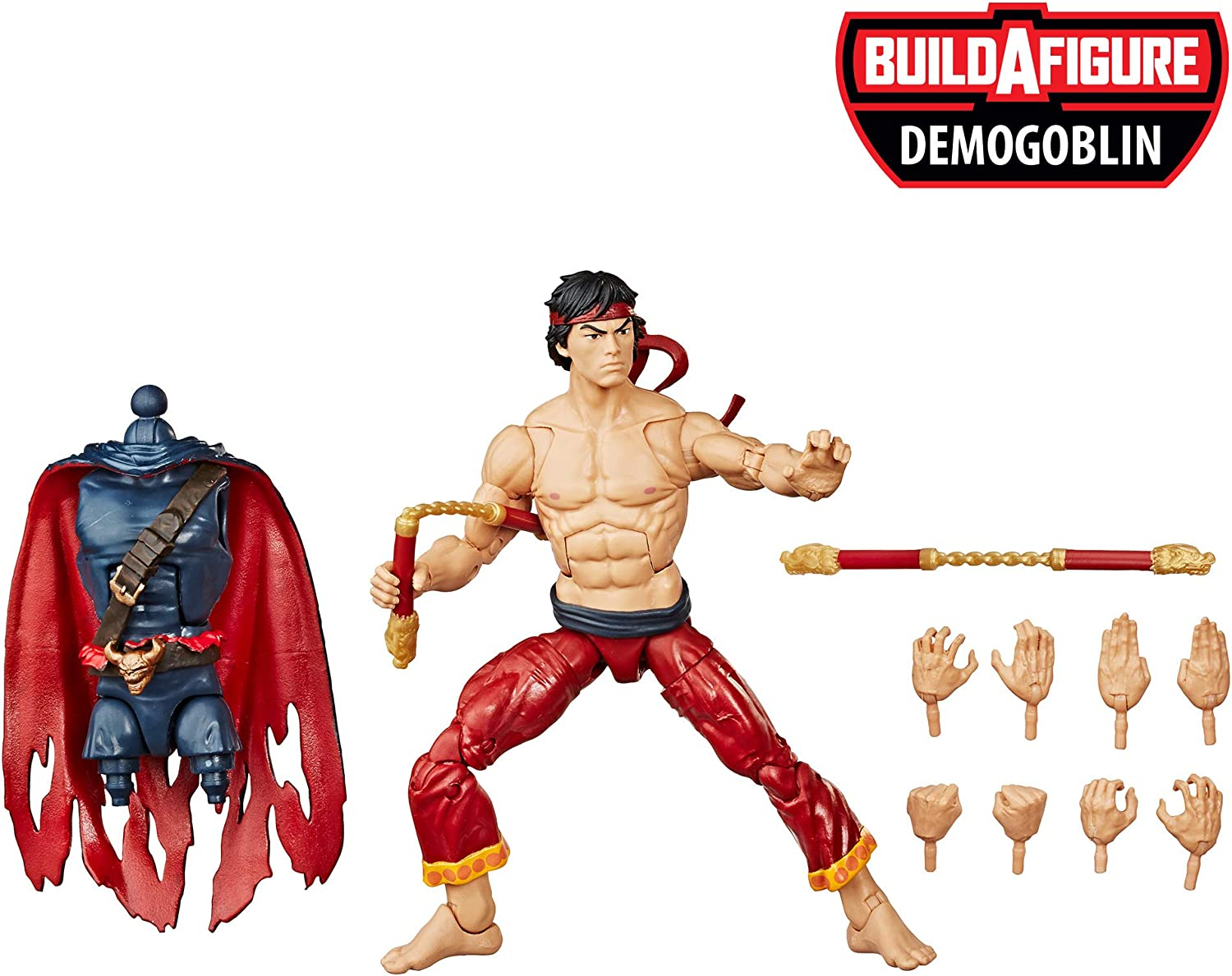 Spiderman Legends Figura Shang Chi (Hasbro E81235X0): Amazon.es: Juguetes y juegos