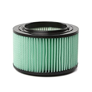 CRAFTSMAN 38740 1/2 Height HEPA Media Wet/Dry Vac Replacement Filter for 3 to 4 Gallon Shop Vacuums