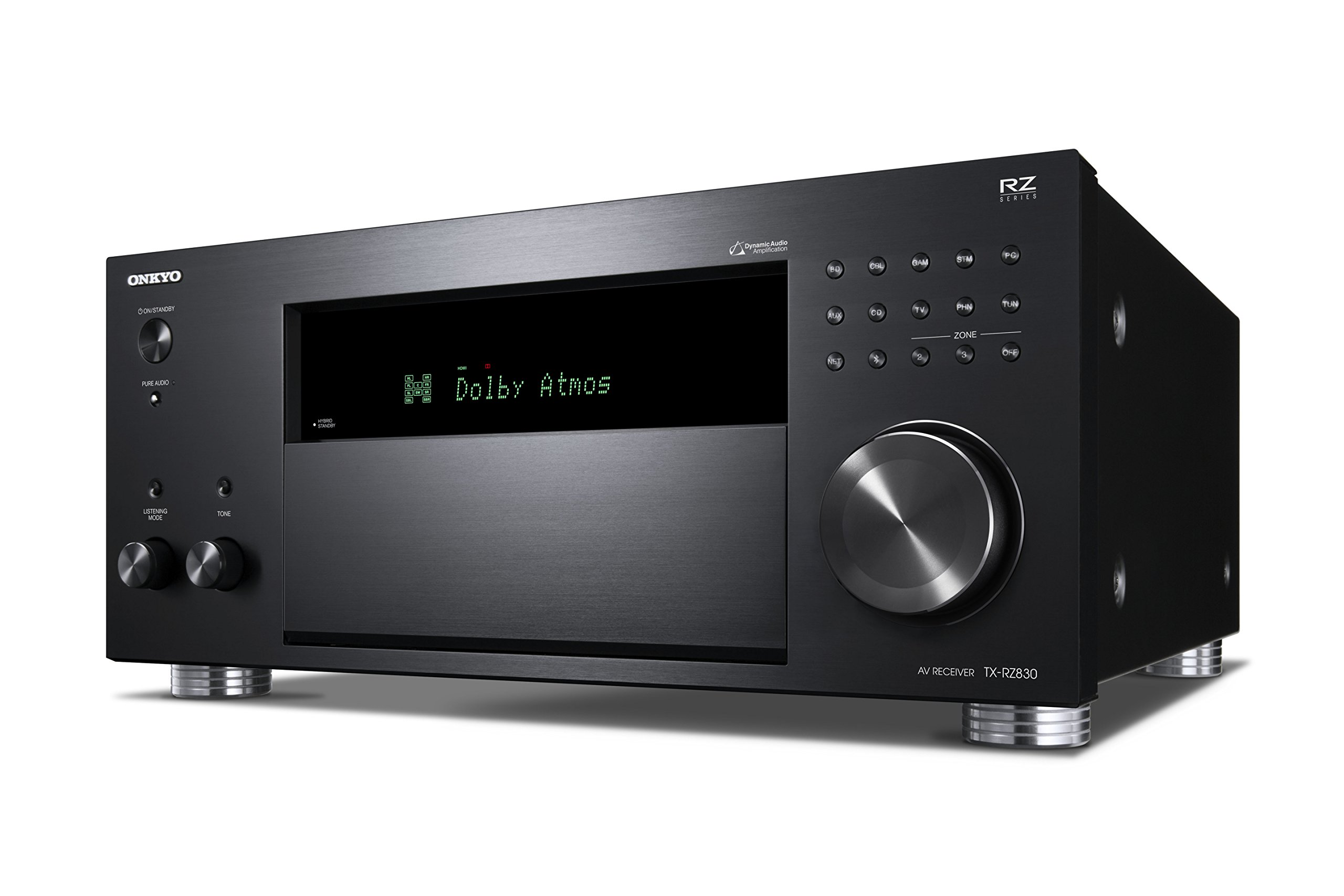 Onkyo TX-RZ830 9.2 Channel 4K Network A/V Receiver Black by Onkyo (Image #3)