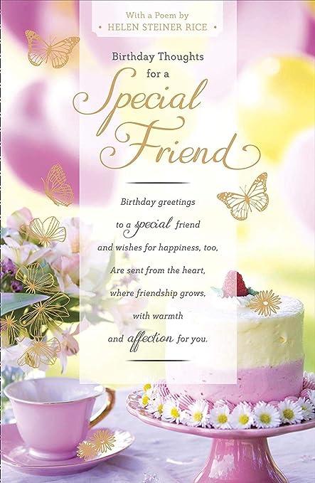 Helen Steiner Rice - Tarjeta de cumpleaños para un amigo ...