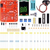Quimat Multifunctional Transistor Tester with LCD GM328,DIY Diode Capacitance ESR Voltage Frequency Meter PWM Square Wave Signal Generator