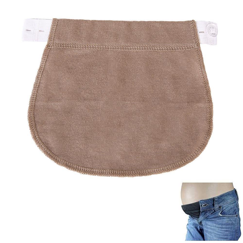 Pregnancy Waistband Extender Adjustable Elastic Pant Expectant Belly Belt Combo