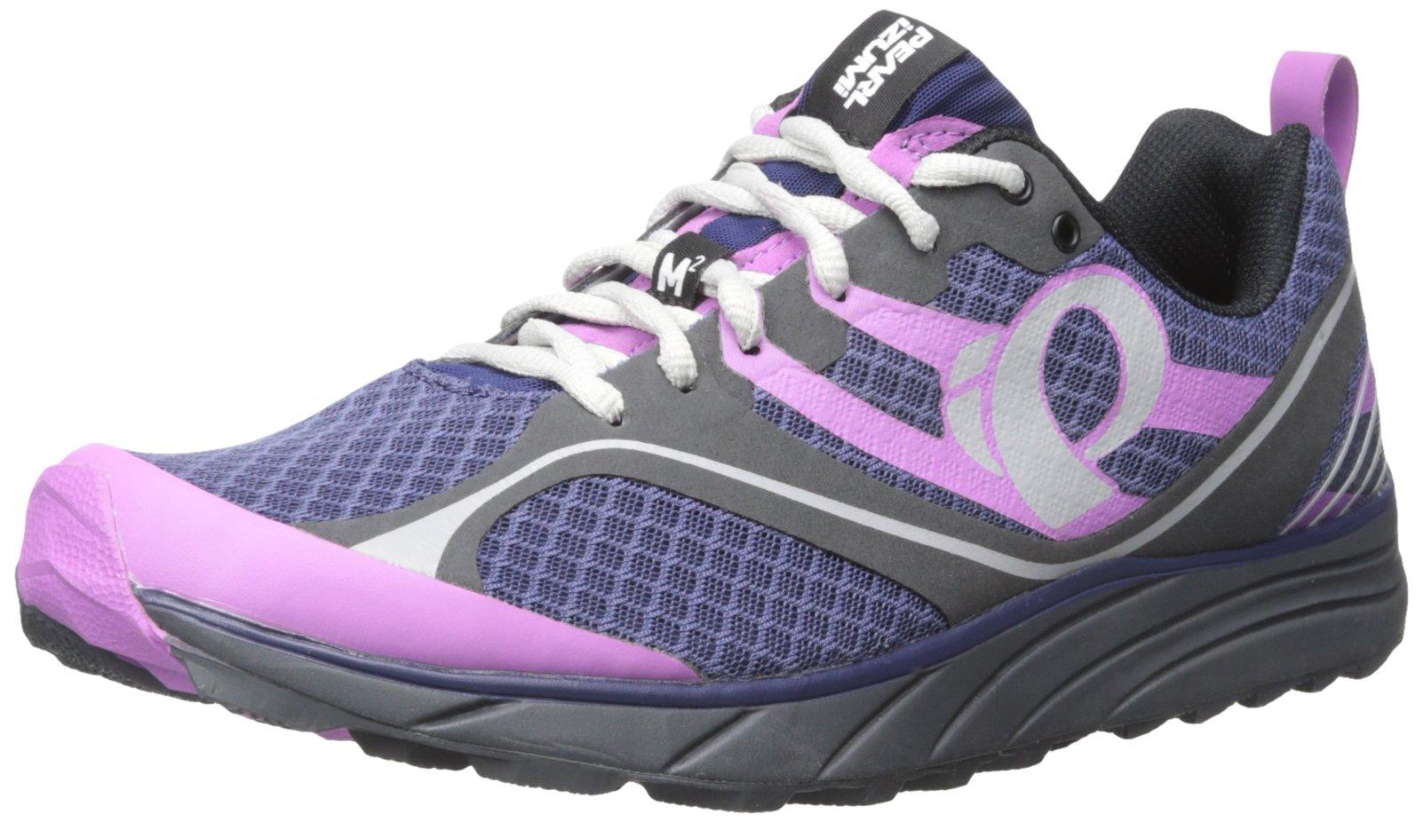 Pearl Izumi Women's W EM Trail M 2 V2 Running Shoe, Deep Indigo/Shadow Grey, 10.5 B US