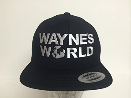 00f03536 Image Unavailable. Image not available for. Color: Vintage Wayne's World  Snapback Hat