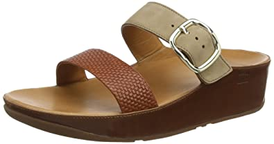 7f2cd7abfe45 Fitflop Women s Stack Slide Open Toe Sandals
