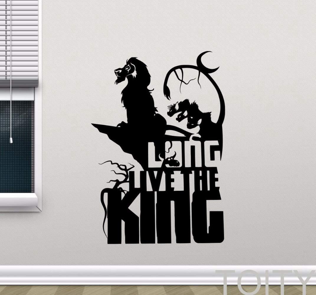 Lion King Simba Tatuajes de pared Larga vida al Rey Pegatina de ...