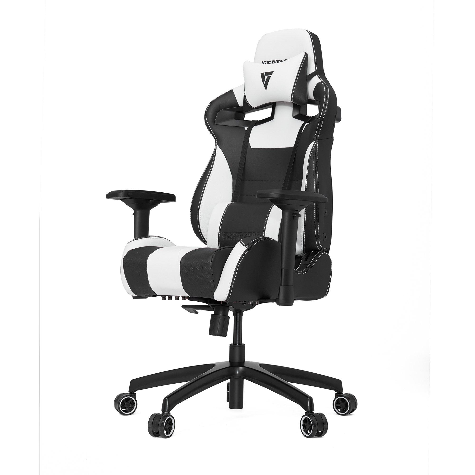 VERTAGEAR S-Line 4000 Gaming Chair, Medium, Black/White by VERTAGEAR