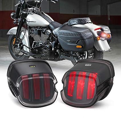 Harley Tail Light [Eagle Claw Design] DOT Approved ke Running Lights on