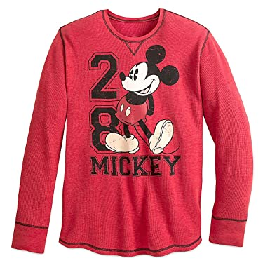 20cdb4ad3c6 Disney Mickey Mouse Long Sleeve Thermal Tee for Men Size MENS XXL ...