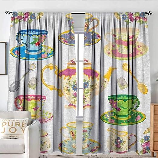 Cortina de Puerta corredera para Fiestas de té, diseño con Varios ...