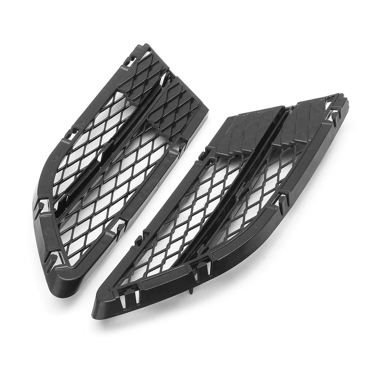 MOMOALA AAlamor Paraurti Anteriore Sfiati Anteriore Griglia Inferiore Grill Net per BMW Serie 3 E90 E91 325I 328I 335I