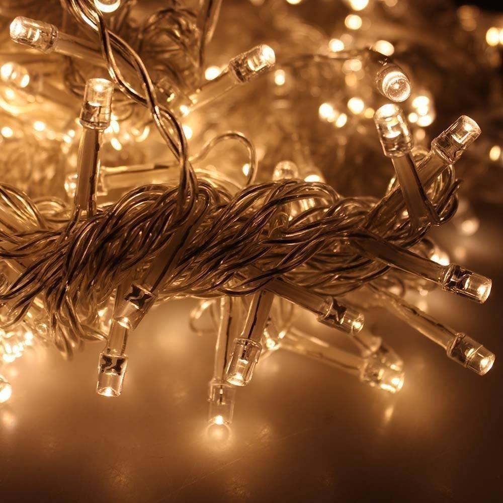Eplze Cortina de Luz LED 6m x 3m 600 LEDs LED de Luz de Hadas 8 Modos Controlables Resistente al Agua Luz de la Secuencia para la Fiesta de Navidad Boda Festival Decoración de Pared (Blanco)