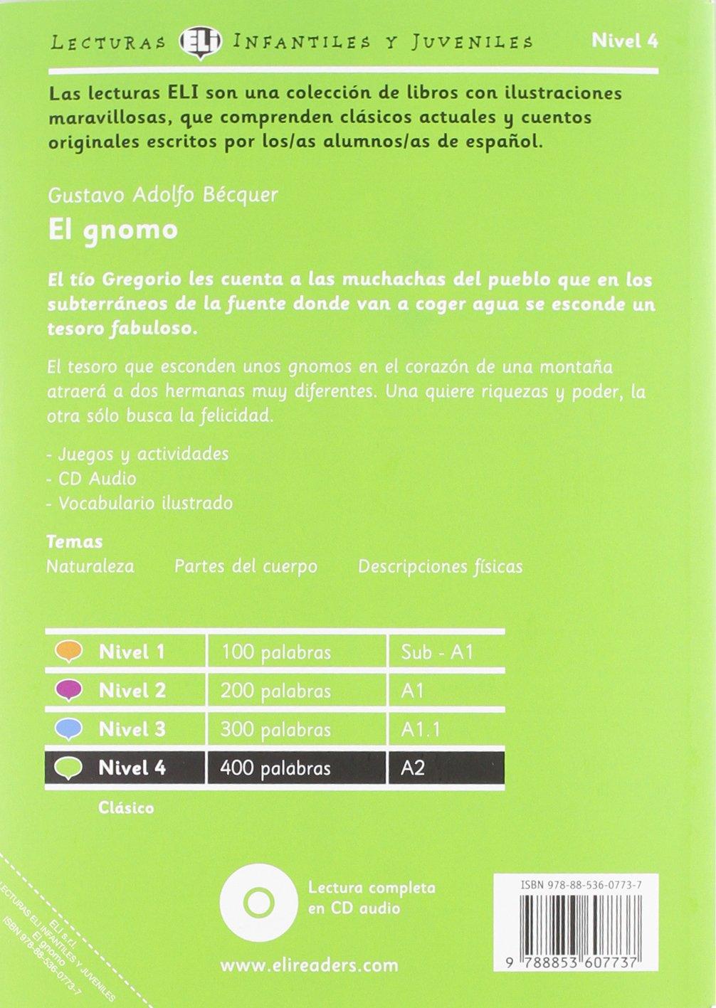 El gnomo + CD: Andrea Rivola, Gustavo Adolfo Becquer: 9788853607737: Amazon.com: Books