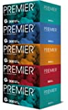 Premier Facial Tissue, 200ct (Pack of 5)- packaging may vary