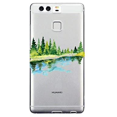 Funda Huawei P9 Plus, Wouier® Linda Ultra ligero Slim TPU ...