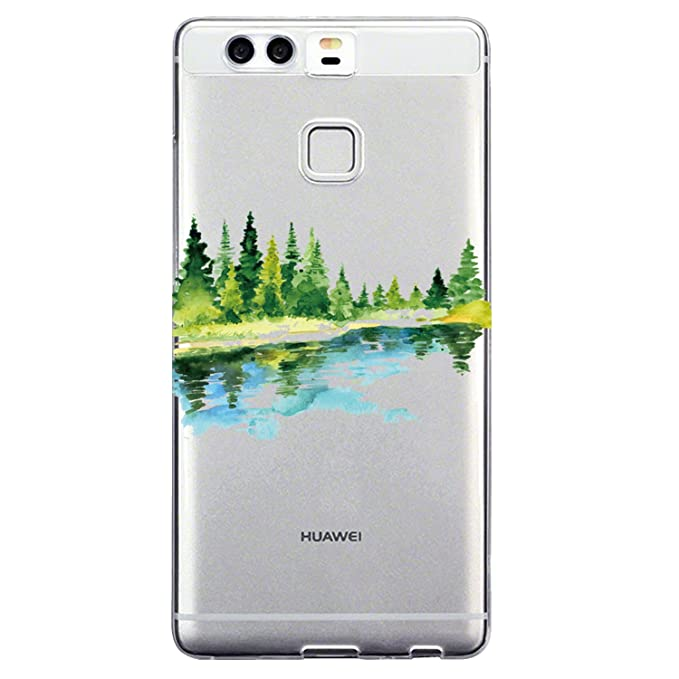 Wouier Funda Huawei P9 Plus, Linda Ultra ligero Slim TPU ...