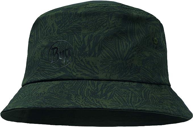 Buff Checkboard Sombrero Trek Bucket, Unisex Adulto, Moss Green, Talla única: Amazon.es: Ropa y accesorios