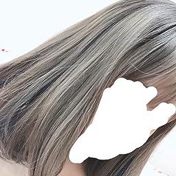 Amazon ウィッグボブ フルウィッグストレート セミロング グラデーション夏日系 前髪可愛い お祭り ブラック ブルー キイロ フルウィッグ 通販