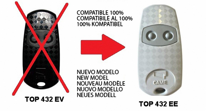 Remote CAME TOP432EV TOP432EE
