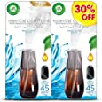 Air Wick Air Freshener Essential Oil Diffuser Refill, Fresh Water Breeze Twin Pack