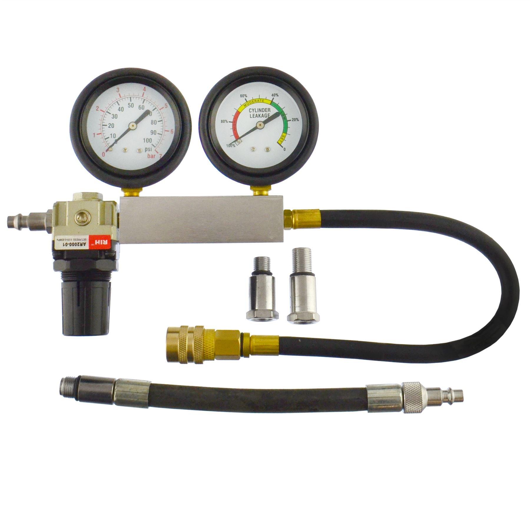 AB Tools-US Pro Cylinder Leak Detector/Tester Compression Leakage kit Set Petrol Engines AT270 by AB Tools-US Pro (Image #3)