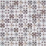 Adesivi piastrelle in pvc rivestimenti bagno decorazioni murali auto adesivo per piastrelle - Adesivi decorativi per piastrelle ...