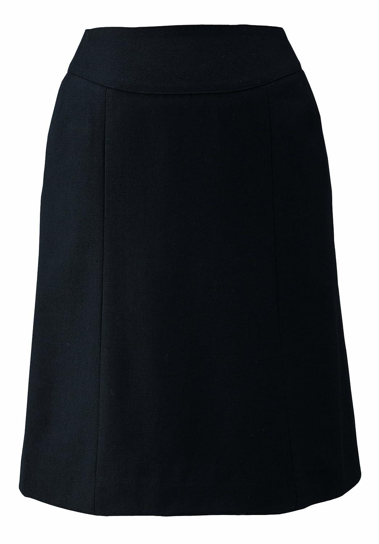 (セレクトステージ) SelectStage オフィスウエア 事務服 フレアスカート 美形スカート(E2454) 【S~XLサイズ展開】 B00BSIOPRW SS|ブラック ブラック SS