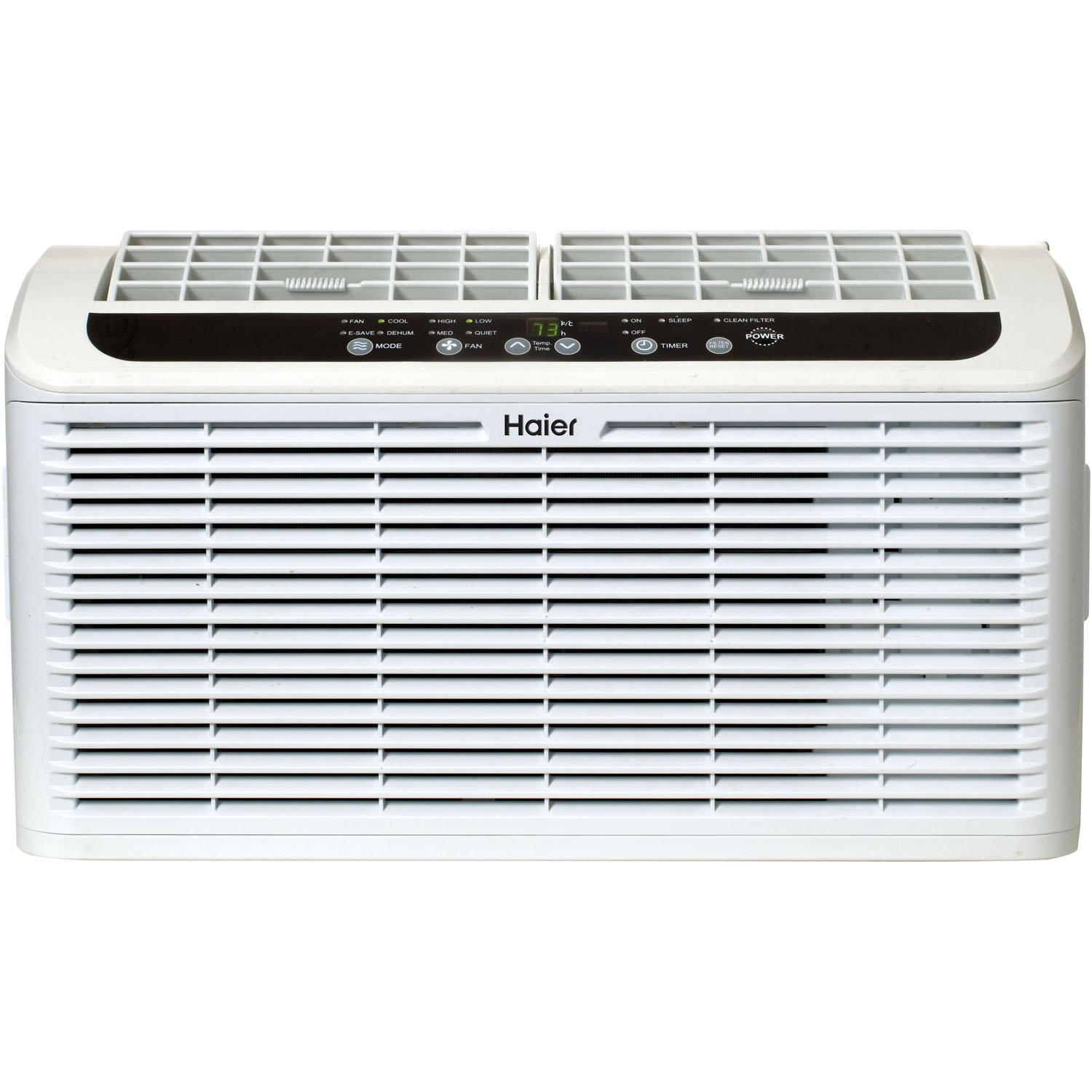 Haier ESAQ406T 22'' Window Air Conditioner Serenity Series with 6,000 BTU 115V W/ LED remote control in White by Haier