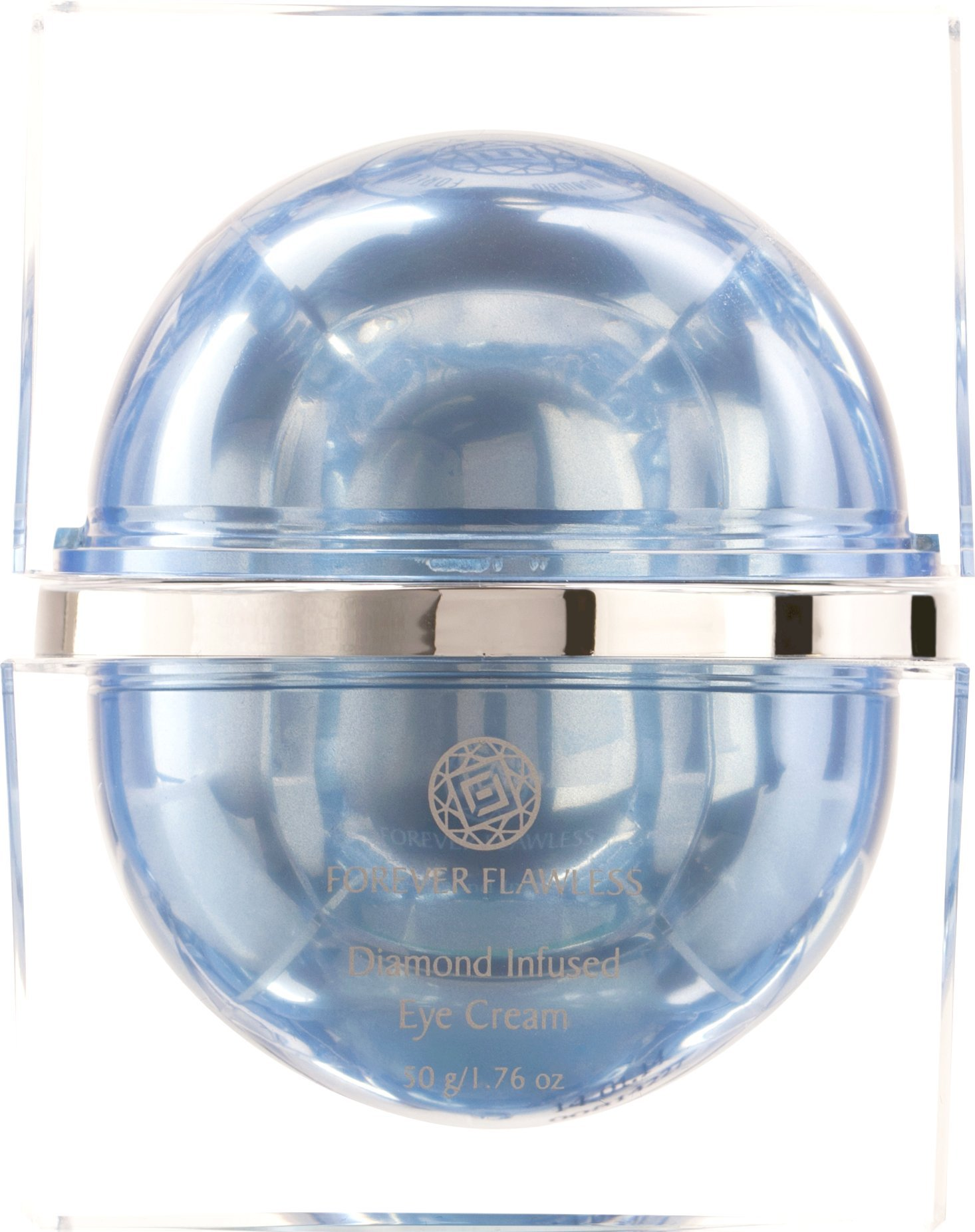 Forever Flawless Anti-Wrinkle + Firming Eye Cream with Blue Diamond Powder, Vitamin C, and Alpha Hydrox for Anti Aging