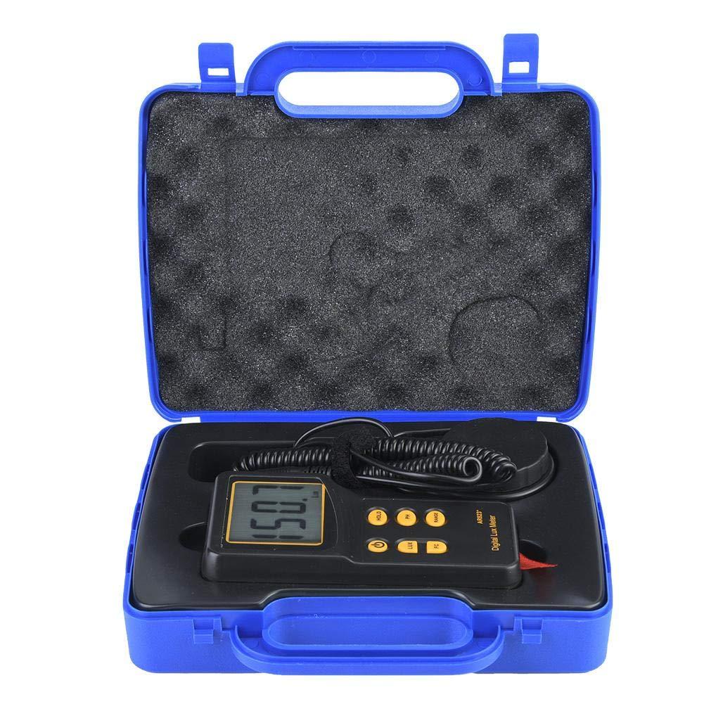 AR823 Digital Light Lux Meter 200.000lux Luxmeter Luminometer Photometer Tester