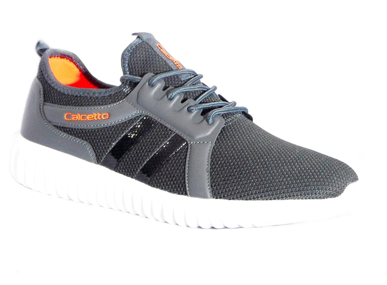 Buy calcetto CLT- 00904 Men Grey/Orange