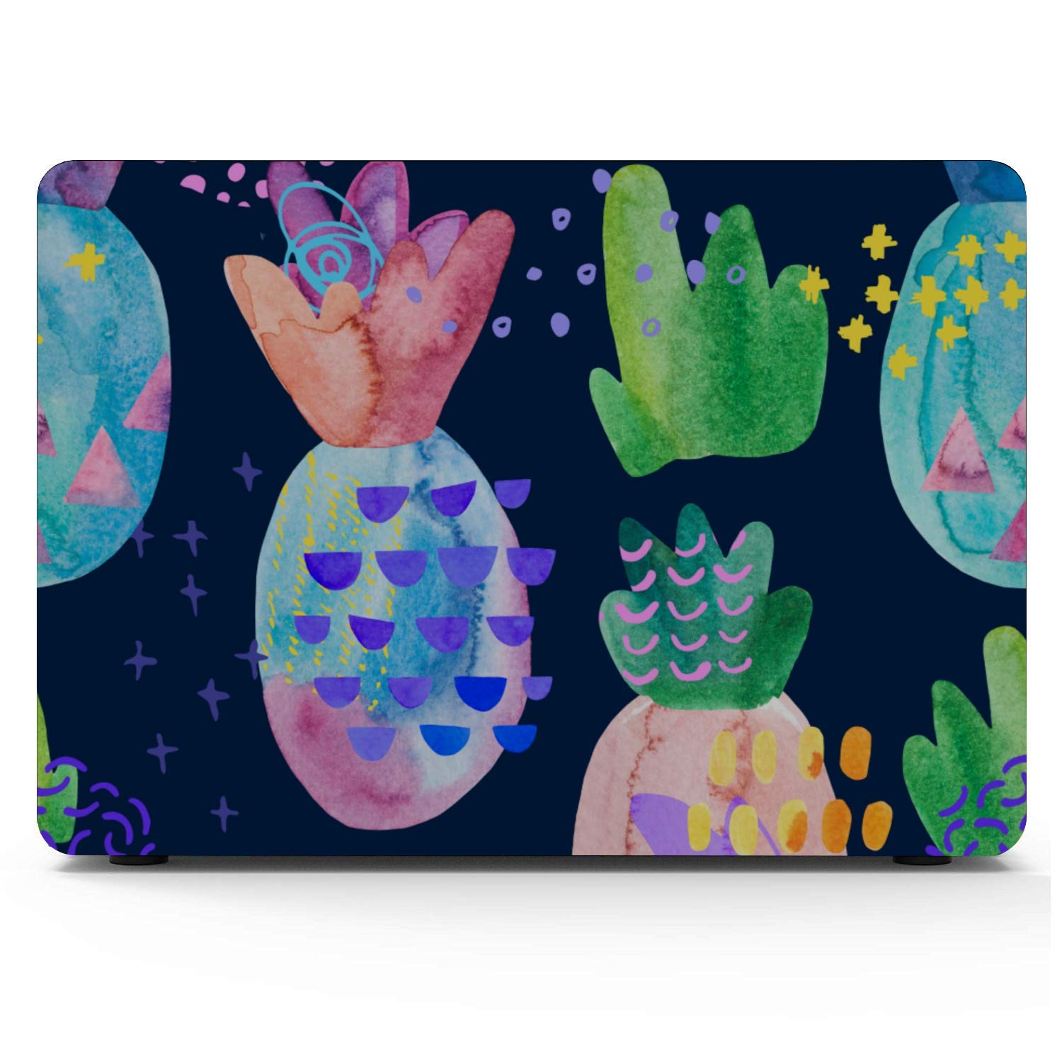 Case MacBook Air 13 Summer Retro Sweet Fruit Pineapple Plastic Hard Shell Compatible Mac Air 11 Pro 13 15 Laptop Case Protection for MacBook 2016-2019 Version