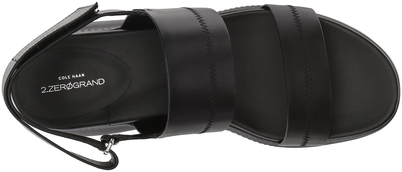 Cole Haan Women's 2.Zerogrand Slide Sport Sandal, Black Leather B073WPXX26 10 B(M) US|Black Leather