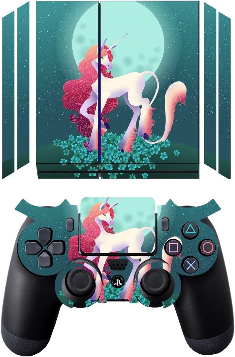 Disagu Design Skin para Sony PS4 liegend + Controller Diseño Pantalla – Diseño de Unicornio: Amazon.es: Electrónica