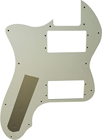 Guitar Parts For Fender 72 Telecaster Thinline P90 Guitar Pickguard 3 Ply Mint Green