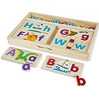 Melissa and Doug ABC Picture Boards, Multi Color