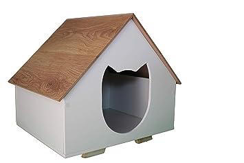 Acc Decora Casa para Gato de Madera para Interior Calidad ...