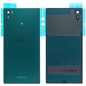 Original Sony Akkudeckel green / grün für Sony Xperia Z5 (Akkufachdeckel, Batterieabdeckung, Rückseite, Back-Cover) - 1295-13
