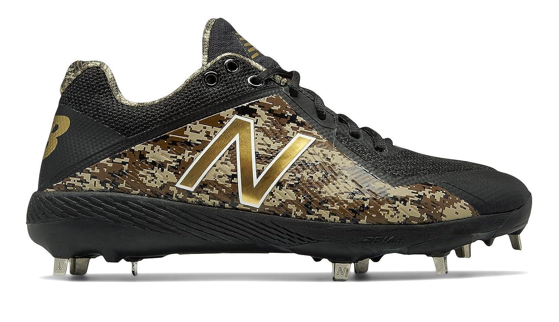 [New Balance(ニューバランス)] 靴シューズ メンズ野球 4040v4 Memorial Day Black with Camo Green ブラック カーモ グリーン US 10.5 (28.5cm) B07DMSVPL7