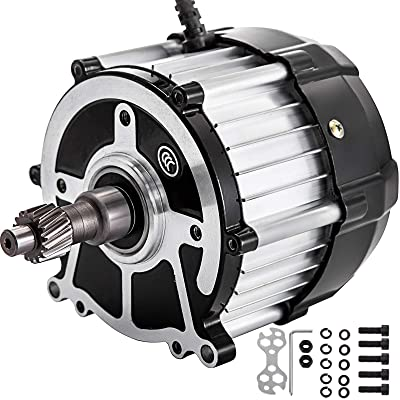 VEVOR Brushless DC Motor 650W Differential Speed Electric Motor 48V 3000RPM : Sports & Outdoors
